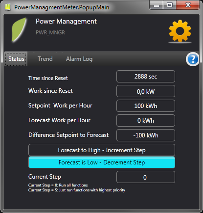 Optimization of energy monitoring and emergency power supply in a simple way.